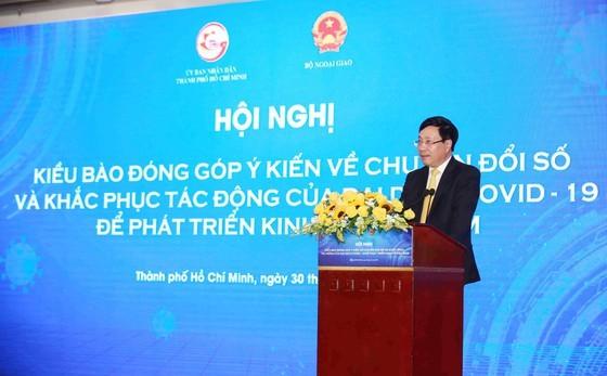 HCMC collects OVs' opinions on digital transformation, economic development ảnh 3