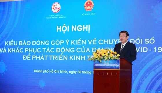 HCMC collects OVs' opinions on digital transformation, economic development ảnh 10