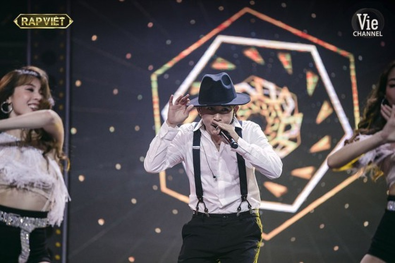 De Choat crowns as winner of Rap Viet competition ảnh 15