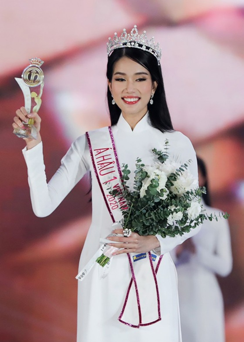 First runner-up of Miss Vietnam 2020 to compete in Miss International 2021 ảnh 2