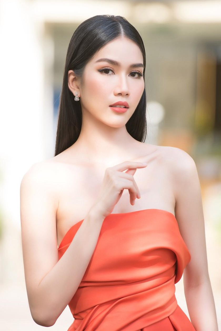 First runner-up of Miss Vietnam 2020 to compete in Miss International 2021 ảnh 5