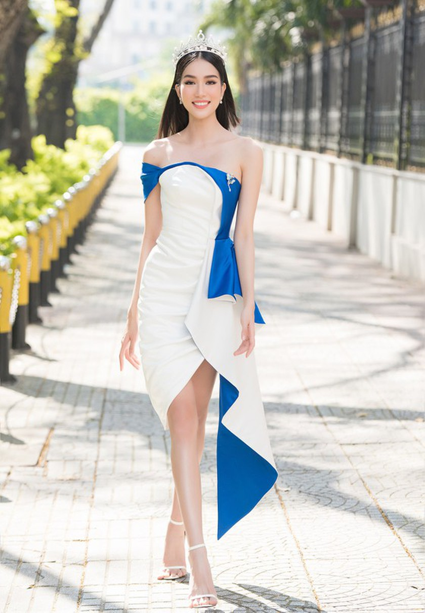 First runner-up of Miss Vietnam 2020 to compete in Miss International 2021 ảnh 9