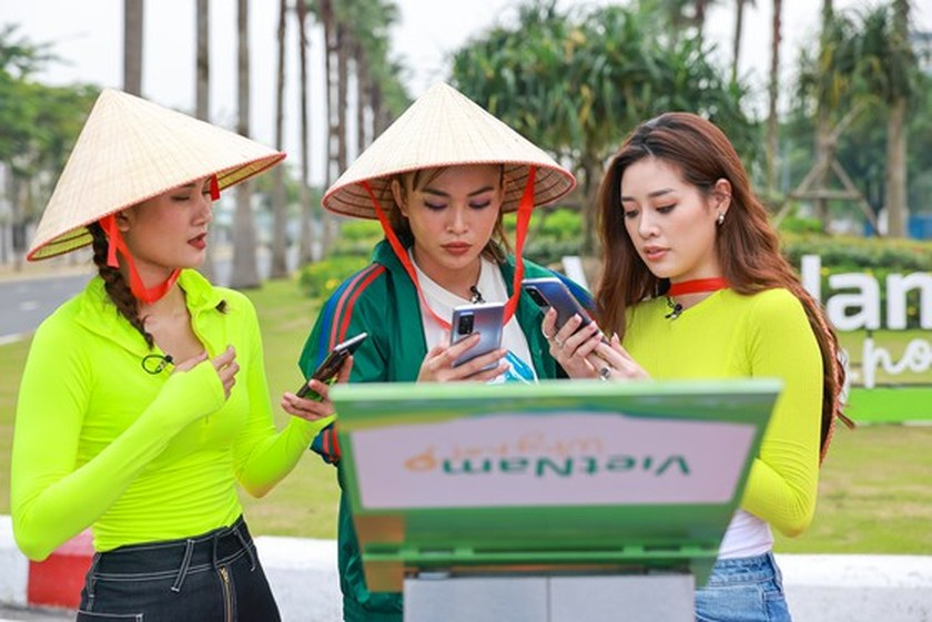 Celebrities join TV reality show to promote domestic tourism ảnh 2