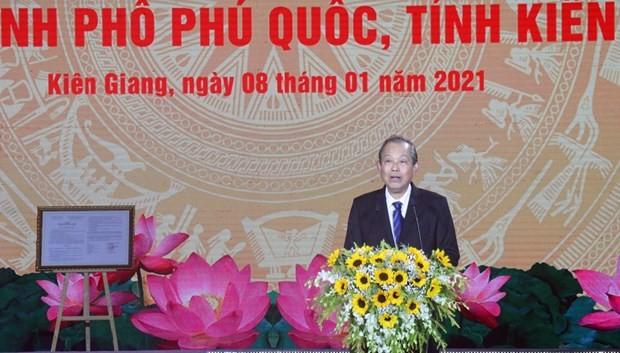 Phu Quoc Island granted 'island city' status ảnh 1