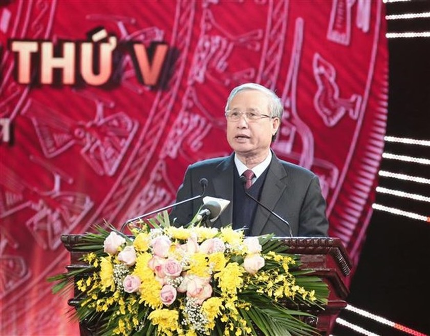 Winners of National Press Awards on Party building named ảnh 2