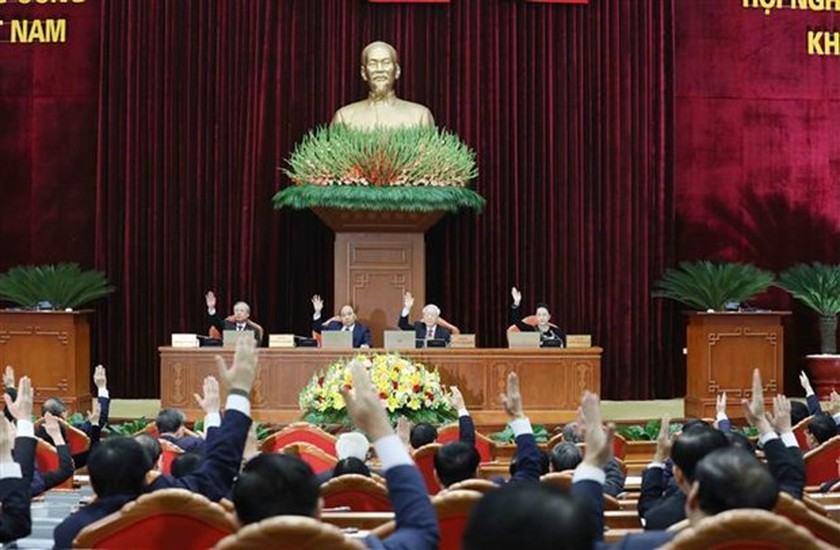 Party Central Committee's 15th plenum focuses on personnel work ảnh 1