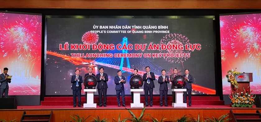 Over VND141 trillion to be invested in 37 projects in Quang Binh ảnh 1