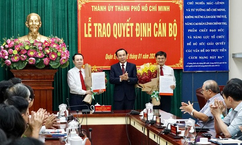 HCMC announces selection and appointment of leading cadres of Thu Duc City ảnh 2