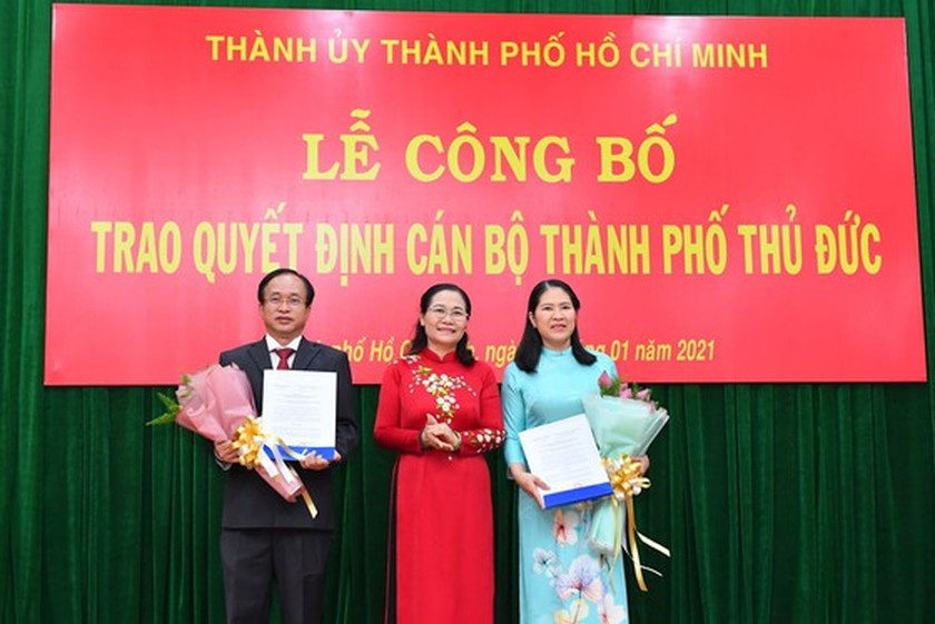 HCMC announces selection and appointment of leading cadres of Thu Duc City ảnh 3