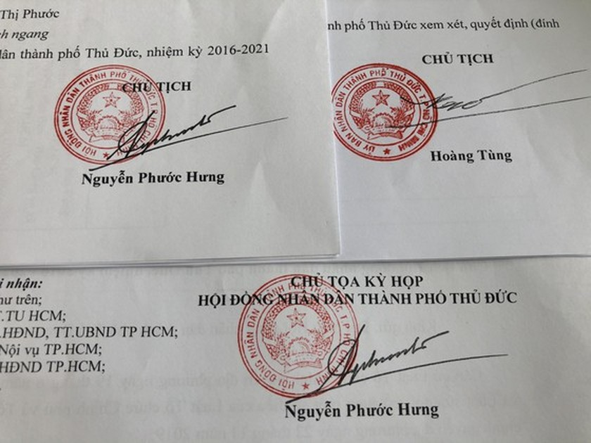 HCMC announces selection and appointment of leading cadres of Thu Duc City ảnh 7