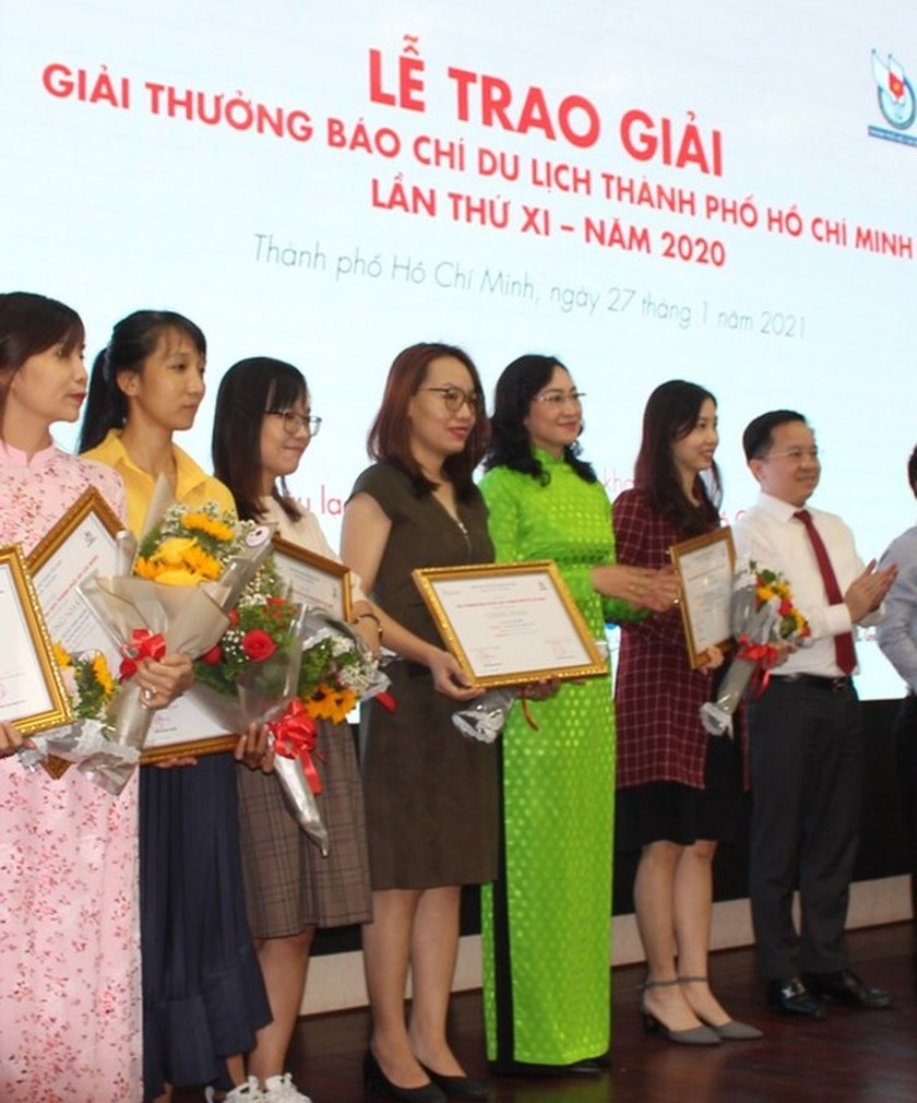 SGGP Newspaper wins HCMC Tourism Press Awards 2020 ảnh 1