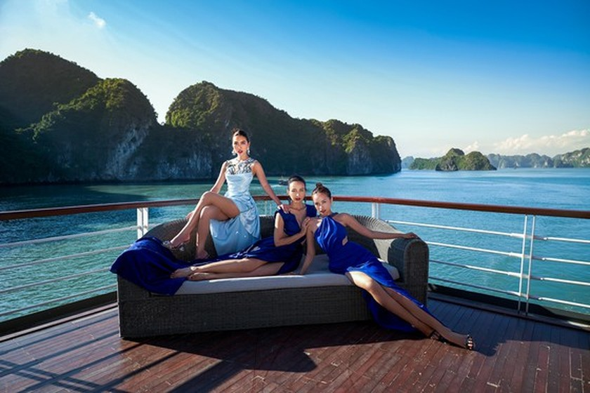 Beauty queens team wins TV reality show promoting domestic tourism ảnh 2