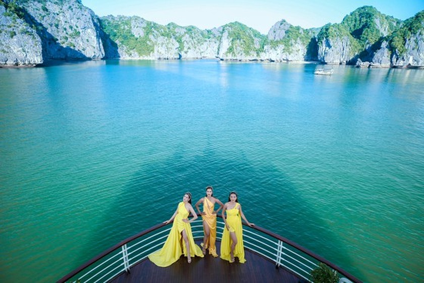 Beauty queens team wins TV reality show promoting domestic tourism ảnh 3