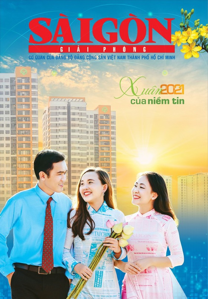 SGGP Newspaper receives third prize of beautiful spring publication's cover ảnh 1