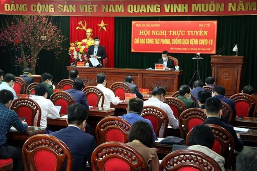 Hai Duong urged to implement COVID-19 combat measures on wider scale ảnh 1