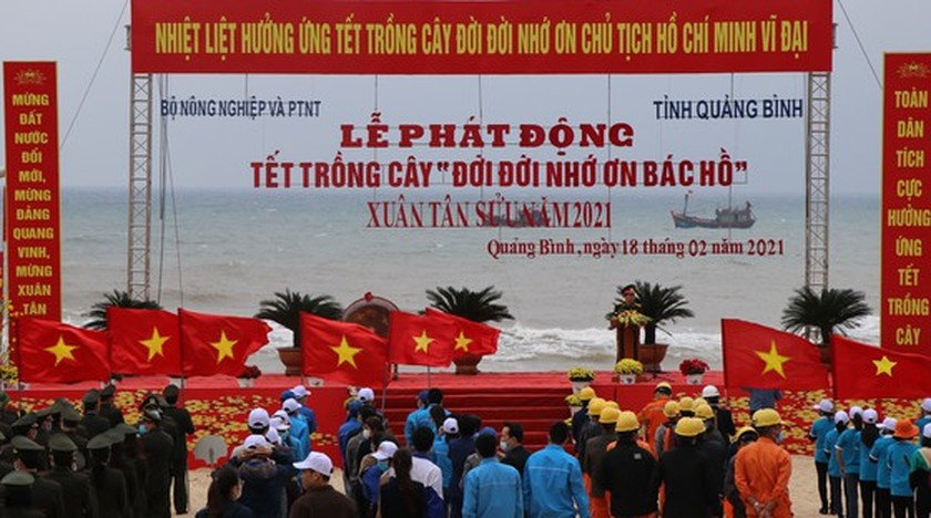 Annual Tet tree-planting campaign launched nationwide ảnh 1