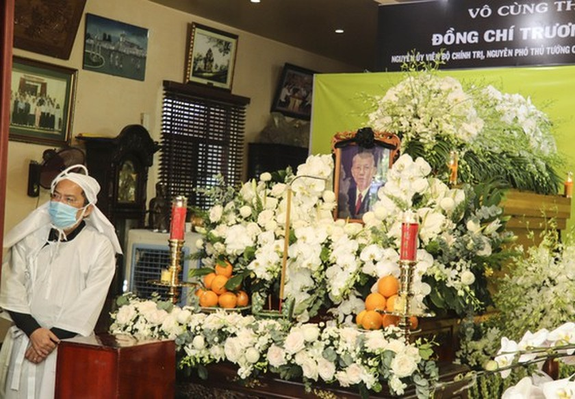 Party, State, HCMC leaders pay tribute to former Deputy Prime Minister  ảnh 1