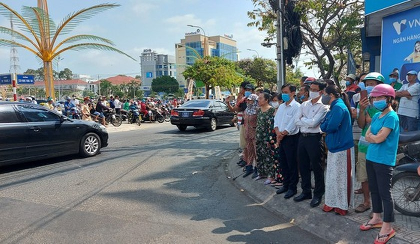 Former Deputy Prime Minister Truong Vinh Trong laid at rest in his native land ảnh 10