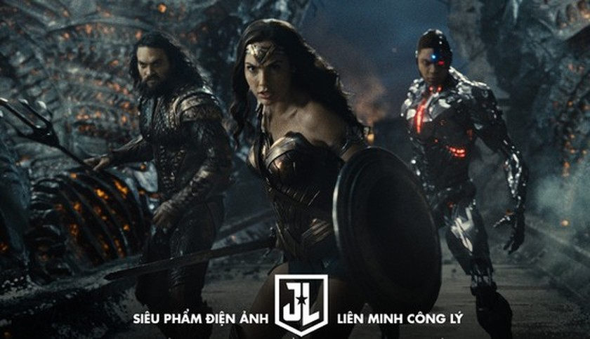 Blockbuster, Justice League to premiere in Vietnam simultaneously with US ảnh 1