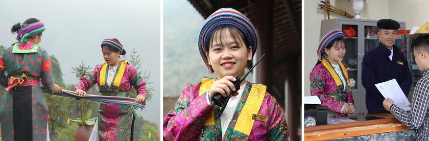 Beauty of women in Ha Giang Province's plateau of rocks ảnh 11