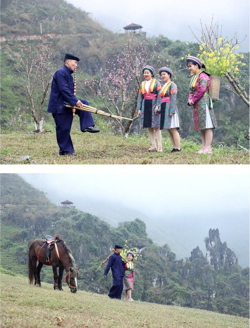 Beauty of women in Ha Giang Province's plateau of rocks ảnh 12