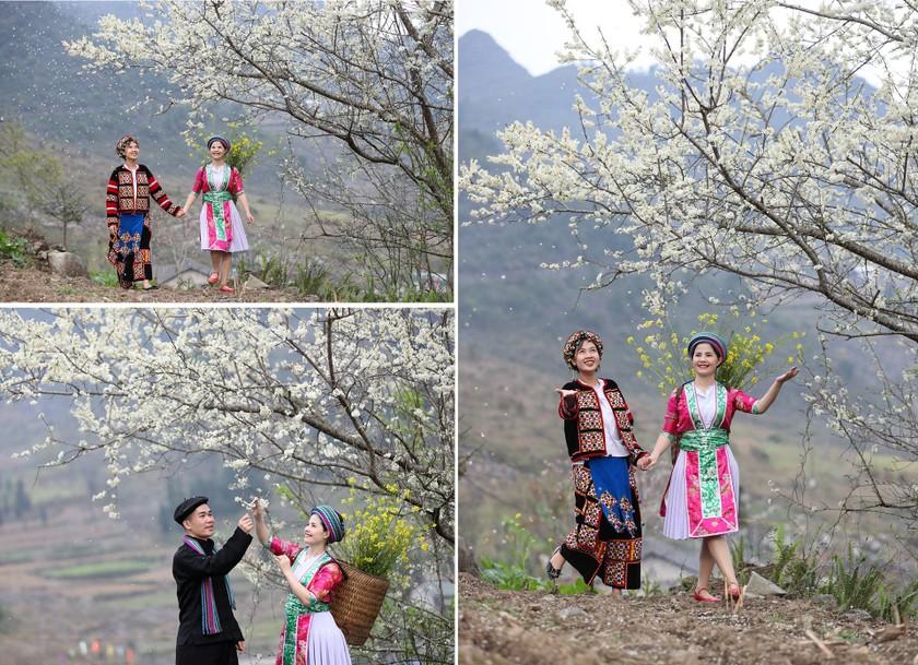 Beauty of women in Ha Giang Province's plateau of rocks ảnh 14