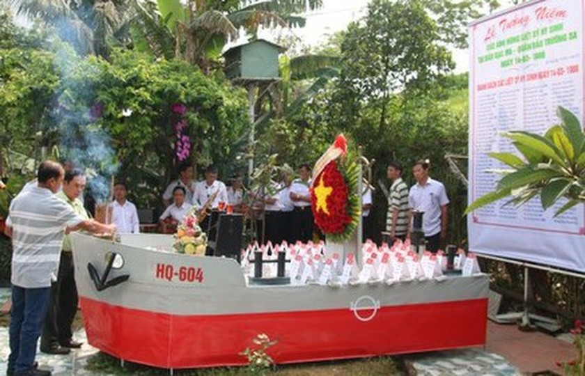 Commemorative ceremonies for Gac Ma naval martyrs held nationwide ảnh 4