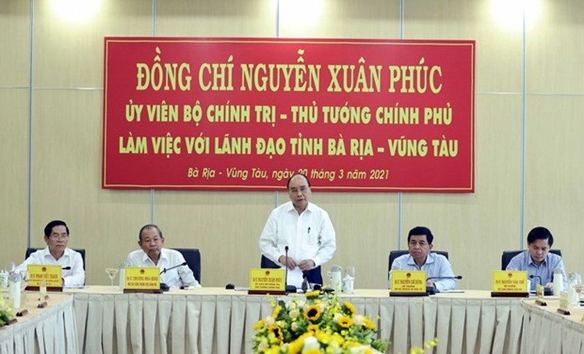 PM wants Cai Mep – Thi Vai seaport complex to be developed to regional standard ảnh 1