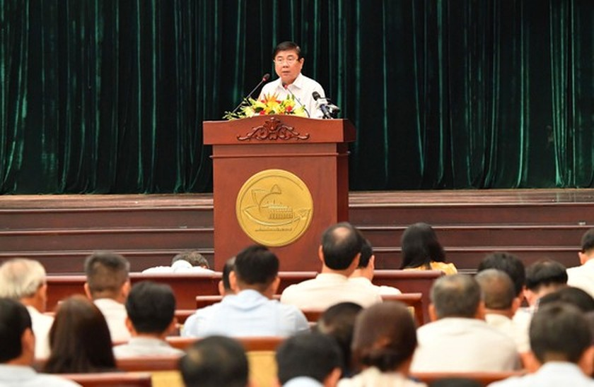 HCMC speeds up organization of urban administration ảnh 1