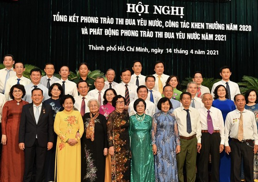 HCMC launches 12 emulation movements in 2021 ảnh 1