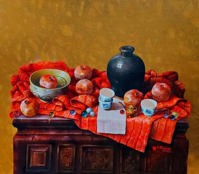 60 painters join fundraising art exhibition to raise money for the poor ảnh 2