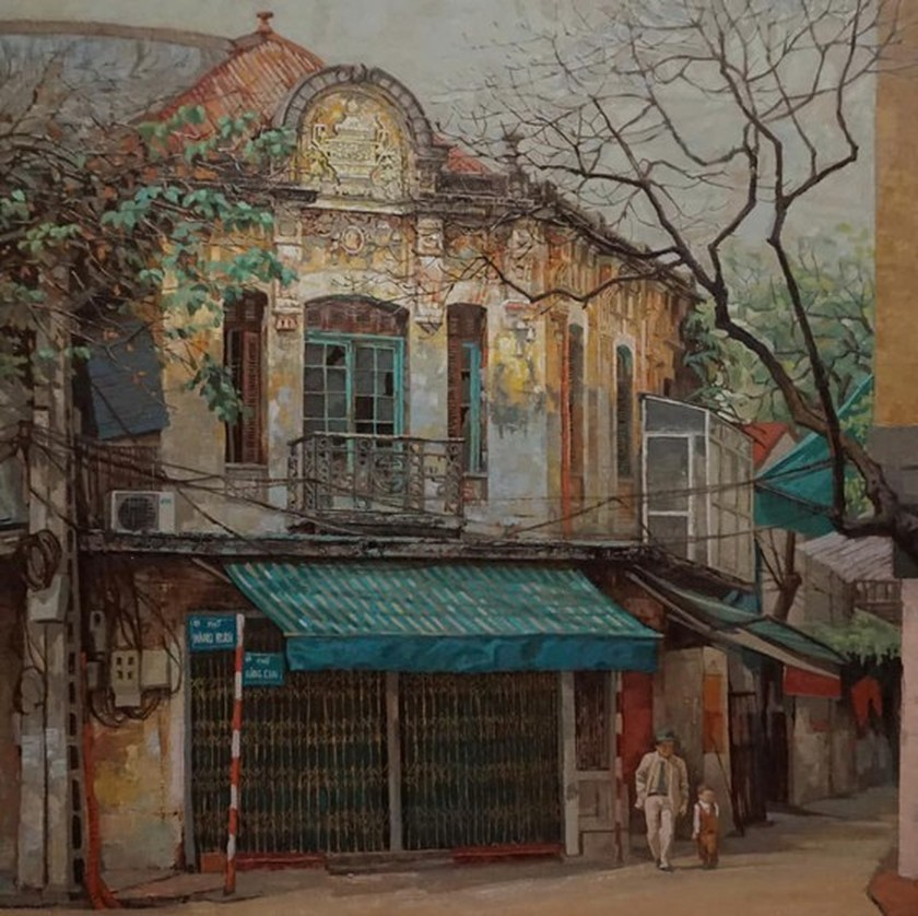 60 painters join fundraising art exhibition to raise money for the poor ảnh 1