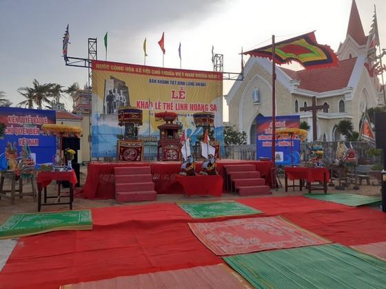 Ritual commemorating soldiers of ancient Hoang Sa Flotilla held ảnh 1