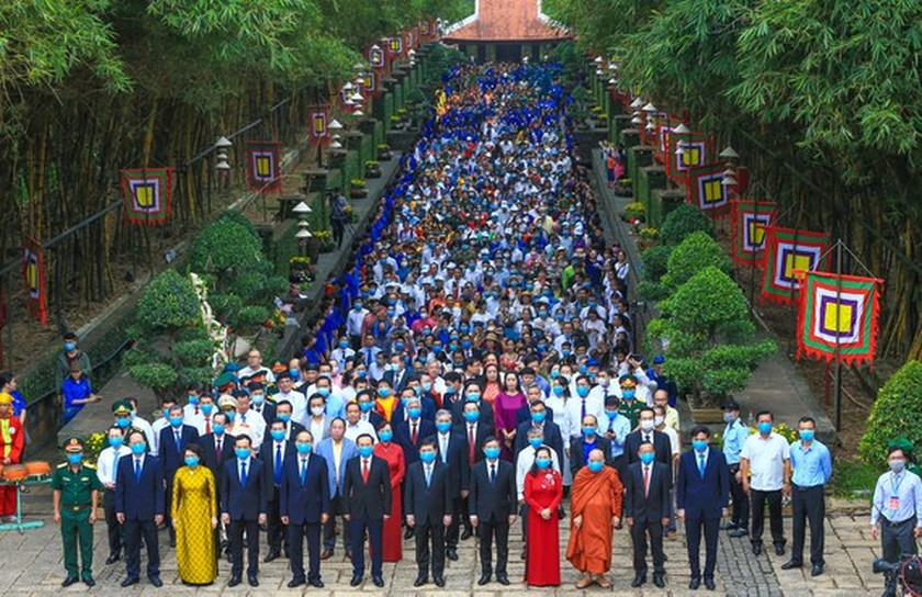 Hung Kings' death anniversary commemorated in HCMC ảnh 1