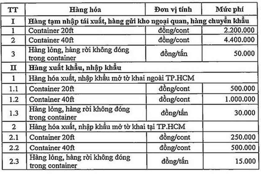 HCMC to collect port infrastructure charges from July 1 ảnh 2