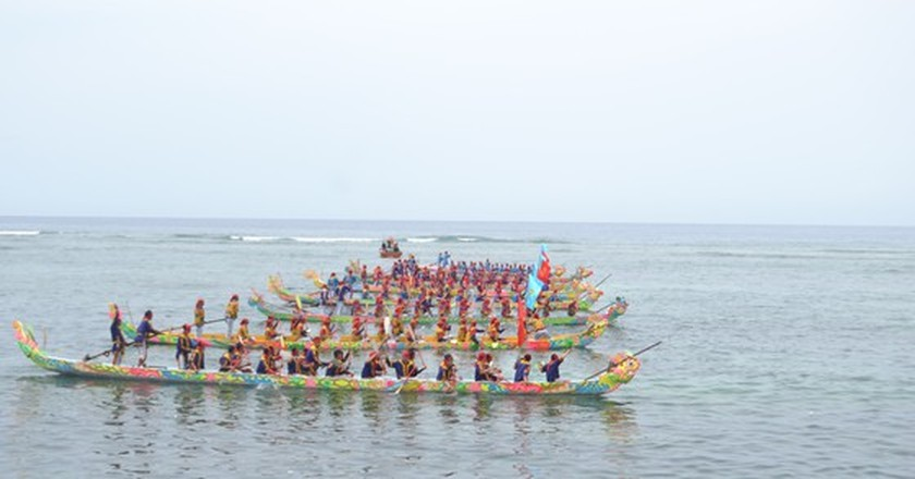 Ly Son island's traditional boat race certified as national intangible cultural  ảnh 6