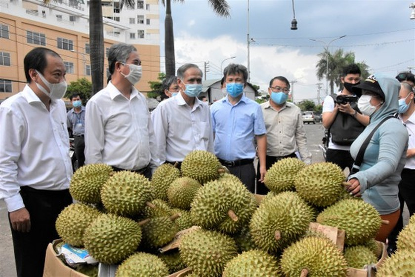 HCMC authorities check practice of preventive measures in District 12, Hoc Mon ảnh 1