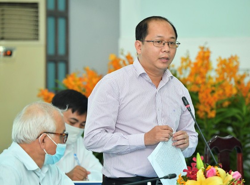 State President holds working session with Cu Chi, Hoc Mon districts in HCMC ảnh 6