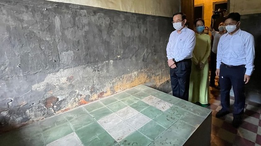 City Party Secretary visits historical sites, works with District 5  ảnh 2