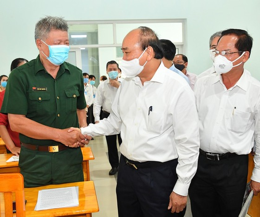 Developing Hoc Mon, Cu Chi to become HCMC's western cities: State President ảnh 2