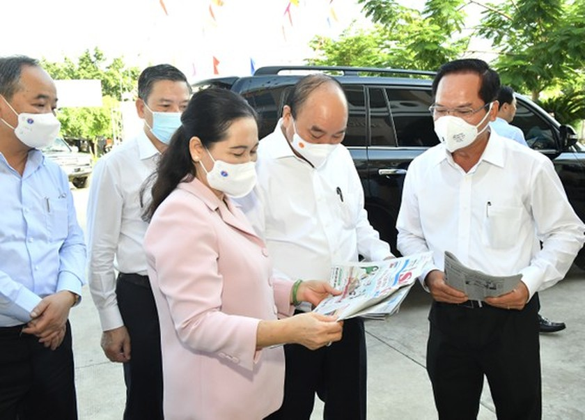 Developing Hoc Mon, Cu Chi to become HCMC's western cities: State President ảnh 3