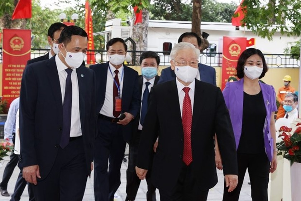 Japanese media spotlight Vietnamese NA election ảnh 1