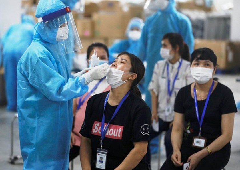 Bac Giang Province on high alert as over 300 new Covid-19 cases detected ảnh 1