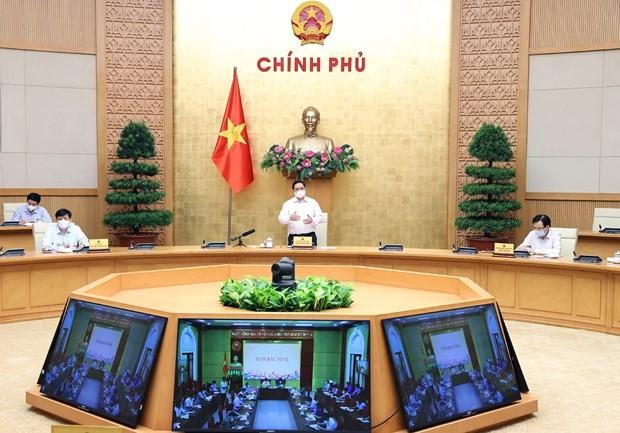 PM urges curbing of COVID-19 in Bac Ninh, Bac Giang provinces ảnh 1
