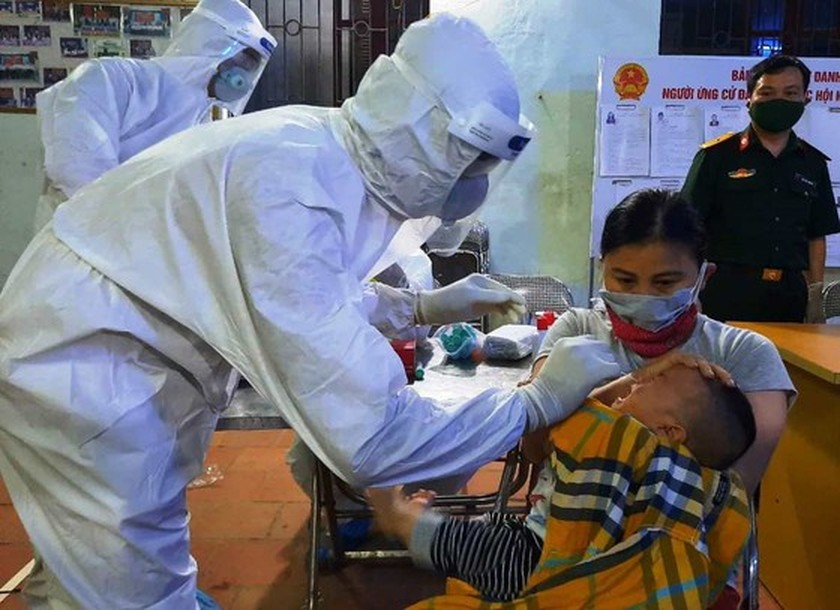 Bac Giang: Children under five allowed to be quarantined at home ảnh 1