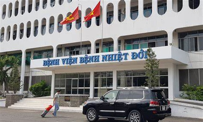 Temporary blockade imposed on HCMC Hospital for Tropical Diseases ảnh 1