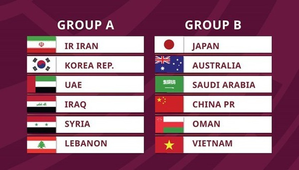 Vietnam in Group B of World Cup qualifiers' third round ảnh 1
