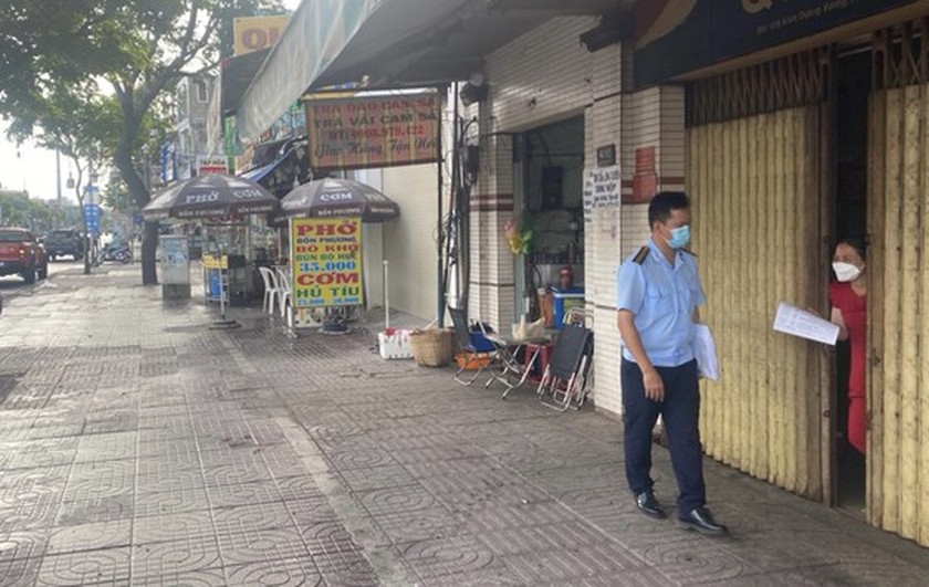 Binh Tan District issues fines of VND52.5 million on violators of Covid-19 rules ảnh 1