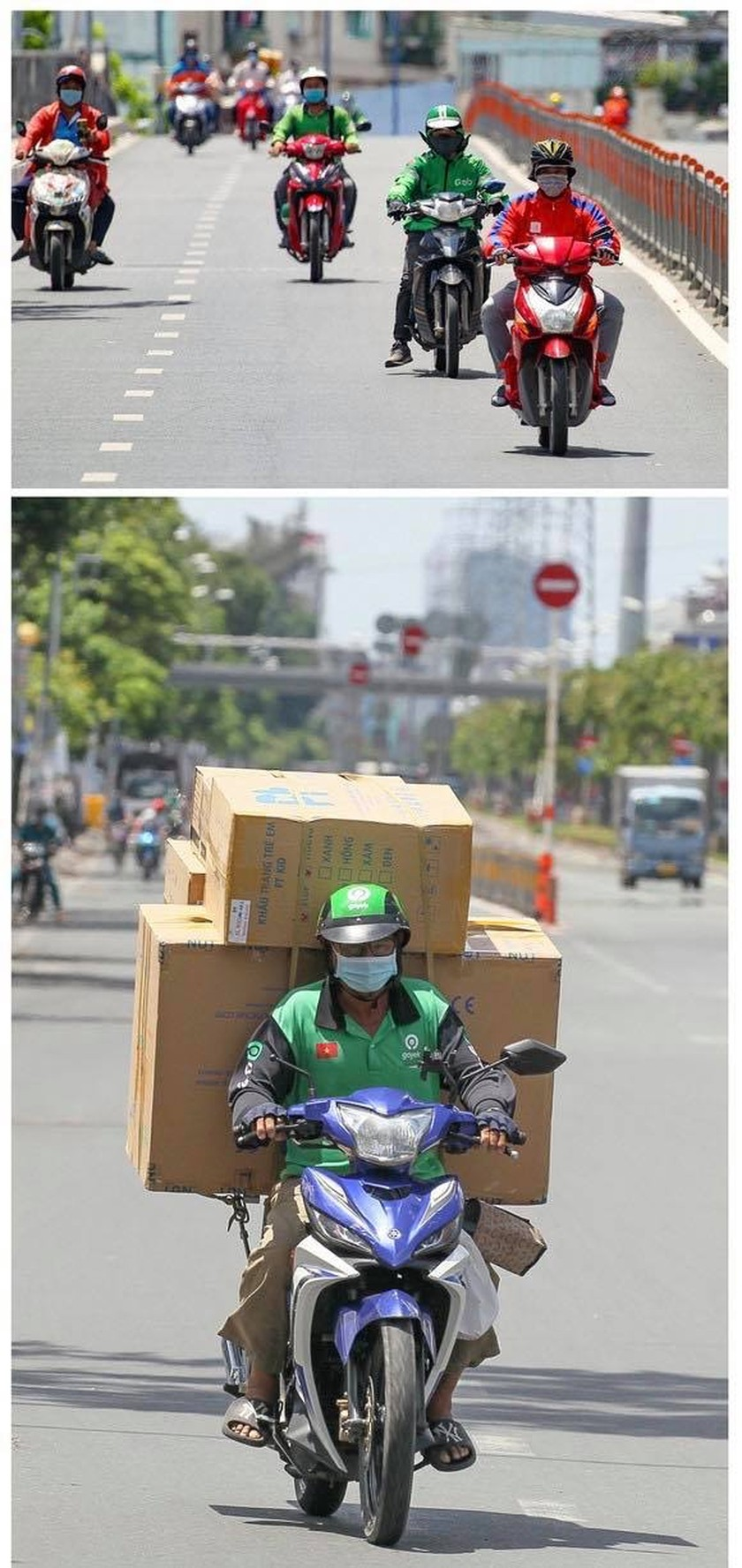 Pictures show HCMC's empty streets as people go for social distancing ảnh 9