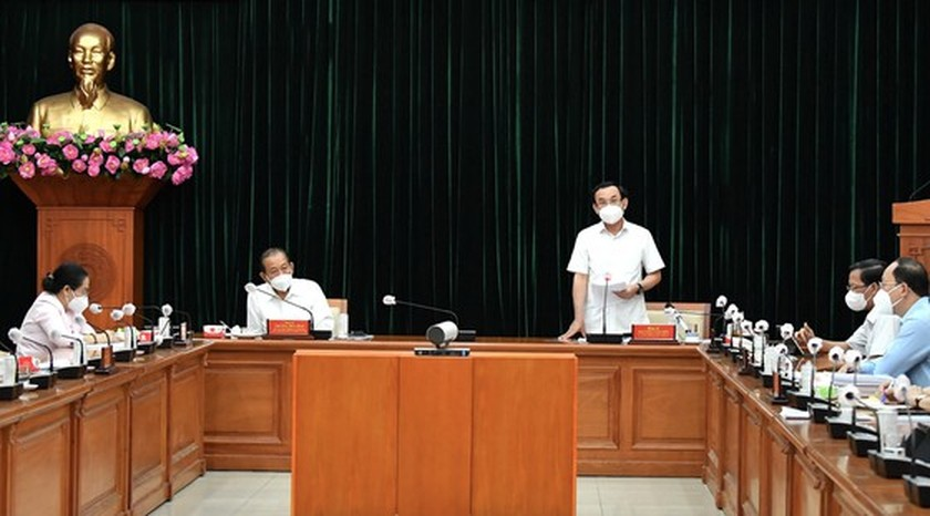 HCMC to take more drastic actions in remaining week of social distancing order ảnh 1